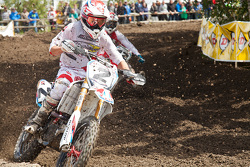 Team Moto Concepts Suzuki rider Mike Alessi Calgary 2014 winner injured in practice sat out round 2