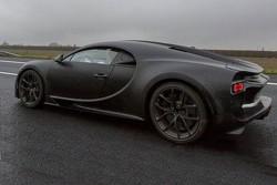 Spy shot de la Bugatti Chiron en Italie