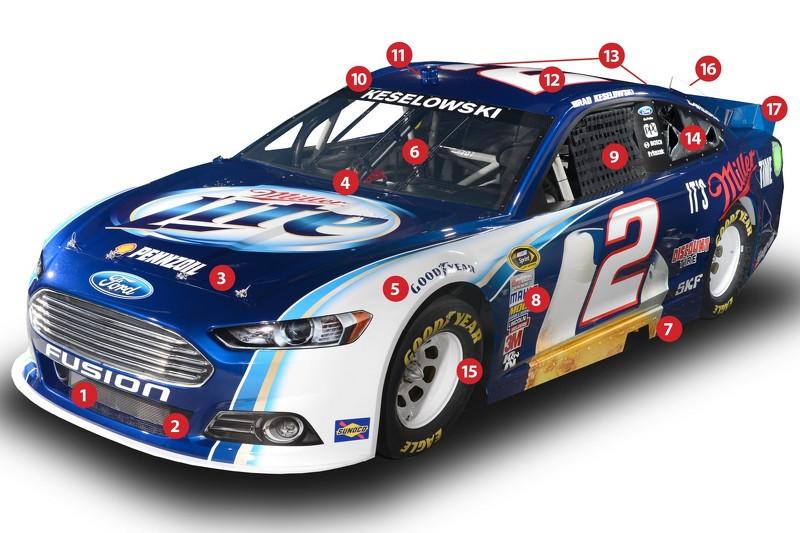 Une voiture de NASCAR Sprint Cup