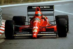 Бруно Джакомелли, Гран При Монако 1990 года
