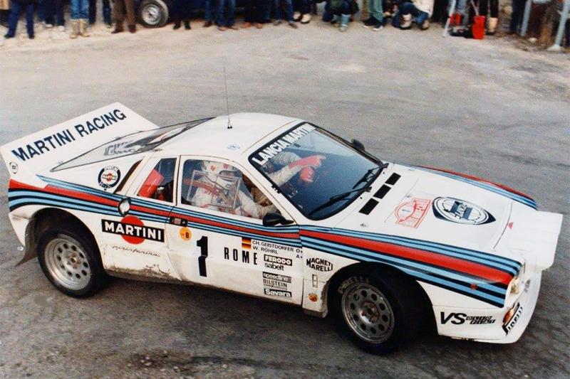 Вальтер Рёрль и Кристиан Гайстдёрфер, Lancia Rally 037, Ралли Монте-Карло 1983 года