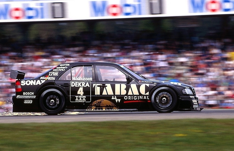 Ян Магнуссен, Mercedes C-Class V6, Хоккенхайм-1995