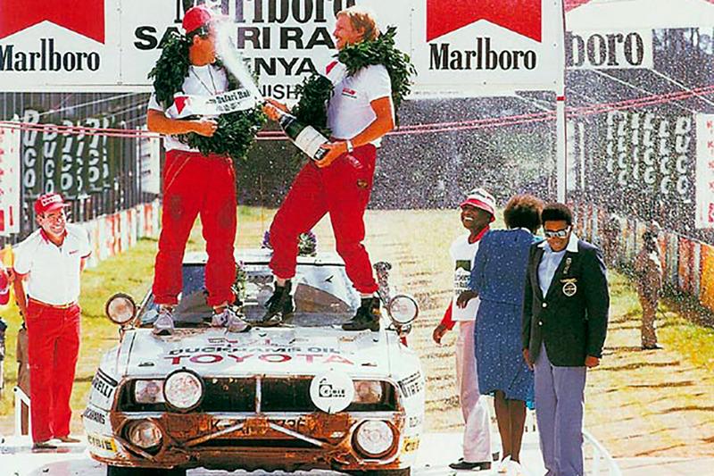 Юха Канккунен и Фред Галлахер, Ралли Сафари 1985 года, Toyota Celica Twincam Turbo