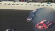 Keselowski Hits The Wall - Daytona International Speedway 2011