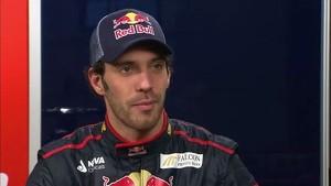 Toro Rosso 2012 - STR7 Launch - Interview Jean-Eric Vergne