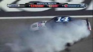 Tony Stewart Burns Out In Victory! - Kobalt Tools 400 - Las Vegas 2012
