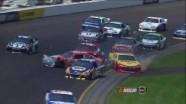 Crash on Turn 3 Draws Caution - Pocono - 06/10/2012