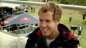 Goodwood Festival Of Speed 2012 - Sebastian Vettel Interview