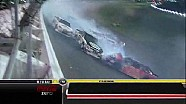 Huge Wreck Takes Out Field - Daytona - 07/07/2012