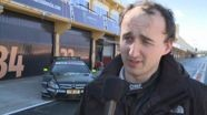 DTM Mercedes AMG C-Coupe - Interview Kubica
