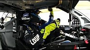 Jimmie Johnson in car POV 2013 Daytona 500