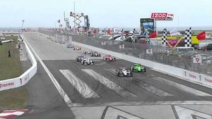 2013 IZOD IndyCar series race at St Petersburg Highlights