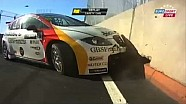 WTCC Marrakech race highlights, crashes and crashes in the streets, 2013 Morocco