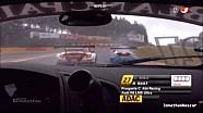 Crash Spa ADAC GT Masters 2013