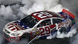 Kevin Harvick's come from behind win in Charlotte