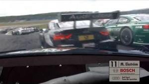 Onboard Mattias Ekström Audi RS 5 DTM - DTM Race Lausitzring