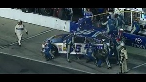 Michael Waltrip Gets Turned Around on Pit Road | Coke Zero 400, Daytona