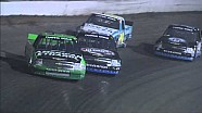 Austin Dillon passes Kyle Larson for the lead at Eldora | 2013