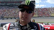 Kyle Busch upset after second place | Michigan International Speedway (2013)