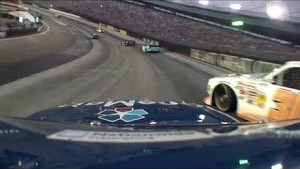 NASCAR Nelson Piquet Jr hits the wall | Bristol (2013)