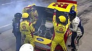 NASCAR Trouble for Joey Logano | Chicagoland (2013)