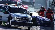 NASCAR Travis Pastrana into the wall | Texas Motor Speedway (2013)
