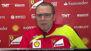Brazilian Grand Prix - Stefano Domenicali, about race