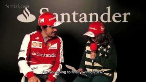 A special interview with Fernando Alonso