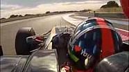Emerson Fittipaldi volta ao cockpit de um F1, anos depois de se aposentar, em Paul Ricard