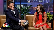 Danica Patrick's Intense Grip - The Tonight Show with Jay Leno