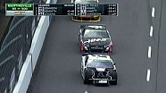 Brad Keselowski gives Kurt Busch middle finger - Martinsville - 2014 NASCAR Sprint Cup