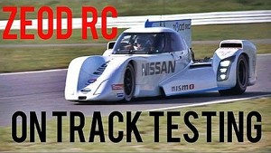 ZEOD RC ON TRACK TESTING