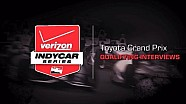 2014 Toyota Grand Prix: Qualifying Interviews