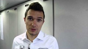 Mikhail Aleshin post race interview from the Grand Prix of Long Beach