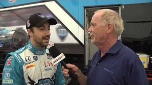 2014 Honda Indy Grand Prix of Alabama with James Hinchcliffe