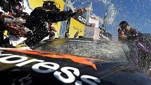 Victory Lane: Denny Hamlin Aaron's 499   Talladega Superspeedway (2014)