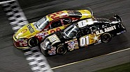 2/18/07 - Daytona - Harvick wins, Bowyer crosses on his hood in the Daytona 500