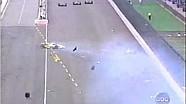 Indy 500 1996 - Buddy Lazier, last lap CRASH