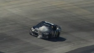 Track comes up - Damages McMurray's car - Dover 2014