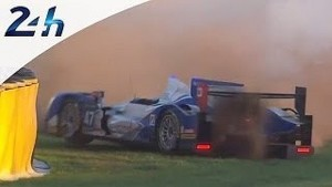 Le Mans 2014: crash #47
