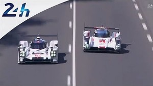 Le Mans 2014: Fight in LM P1 at the beginning of the race