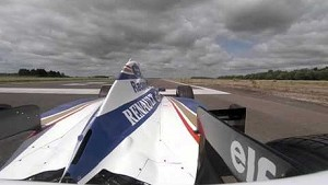 A taste of the FW18 in action: F1 onboard
