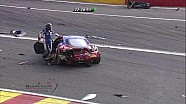 Massive crash for SMP Ferrari - 2014 24 Hours of Spa