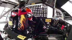 In-car: Gordon gets restart of a lifetime