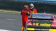 Montoya and Harvick heated exchange - 2007 Watkins Glen