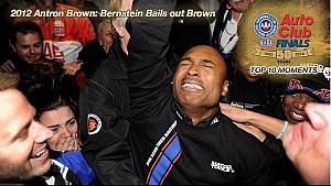 2012 Antron Brown: Bernstein bails out Brown | Top 10 Finals Moment