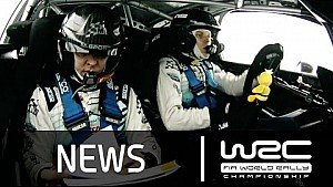 Highlights from stages 1-5: Rally Sweden 2015