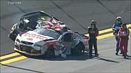 Choque entre Bowyer y Sorenson - Clasificación en las 500 de Daytona de la NASCAR 2015