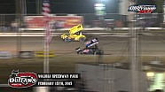 Highlights: World of Outlaws Sprint Cars Volusia Speedway Park February 15th, 2015