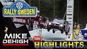 Rally de Suecia - Grandes saltos y buenos derrapes